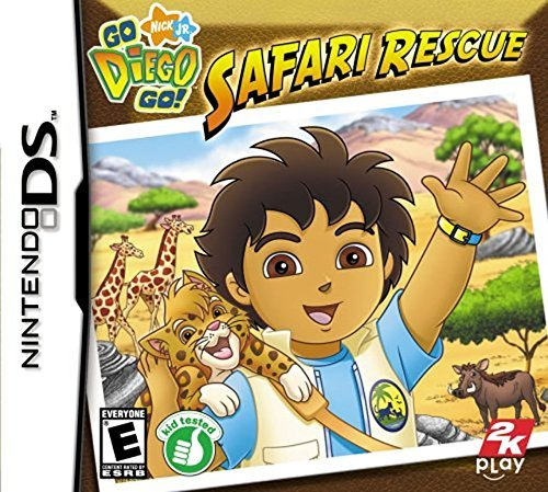Nintendo Ds Go Diego Go Safari Adventure Take 2 E