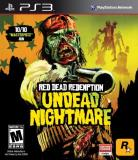 Ps3 Red Dead Redemption Undead Nig Take 2 Interactive M
