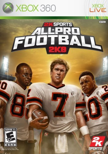 Xbox 360 All Pro Football 2k8