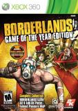Xbox 360 Borderlands Game Of The Year Take 2 Interactive M