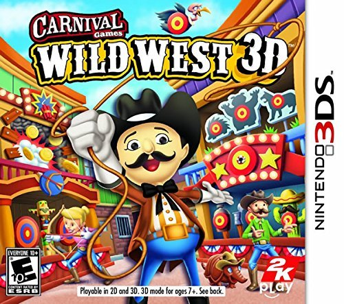 Nintendo 3ds Carnival Games Wild West 3d Take 2 Interactive E10+