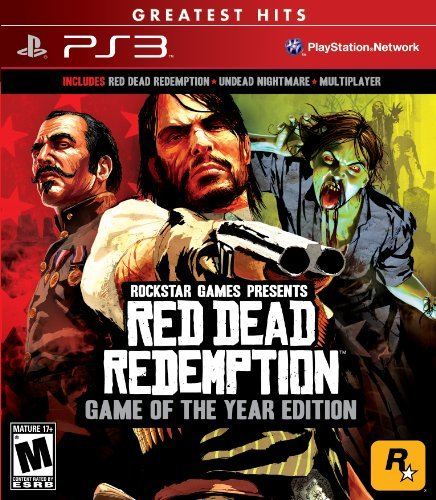 Ps3 Red Dead Redemption Game Of Th Take 2 Interactive M