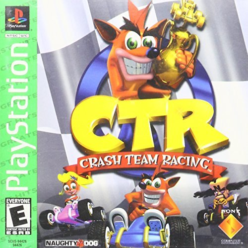 Psx Ctr Crash Team Racing E