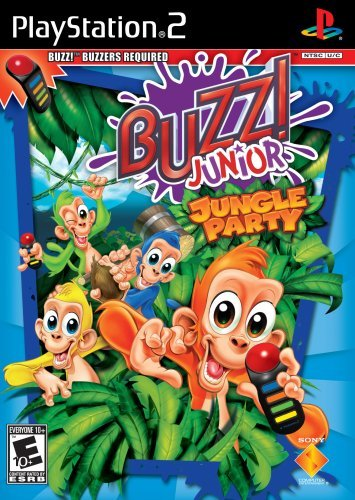 Ps2 Buzz Jr Jungle Party Bundle Rp