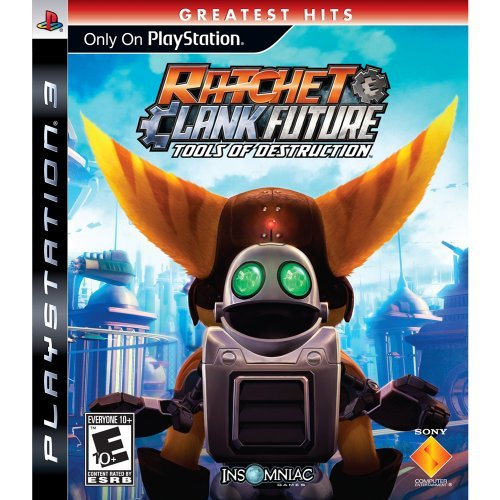 Ps3 Ratchet & Clank Tools Of Dest Sony Computer Entertainme E10+