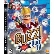 Ps3 Buzz Quiz Tv Bundle