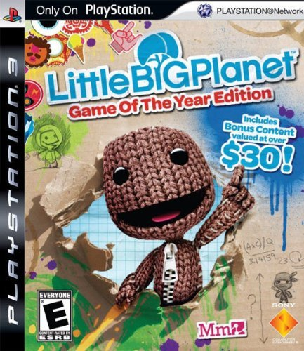 Ps3 Little Big Planet Sony Computer Entertainme Little Big Planet Game Of The Year Edition