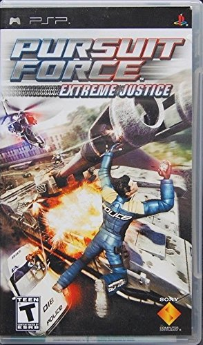 Psp Pursuit Force Extreme Justice