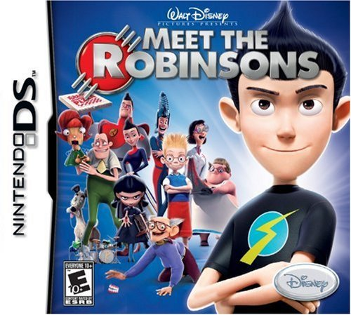 Nintendo Ds Meet The Robinson's Disney