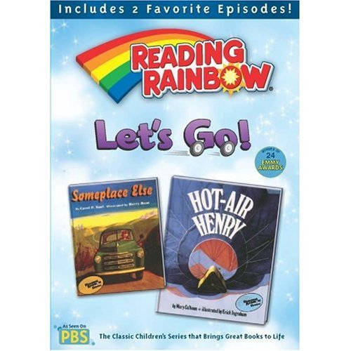 Reading Rainbow Let's Go Clr Nr