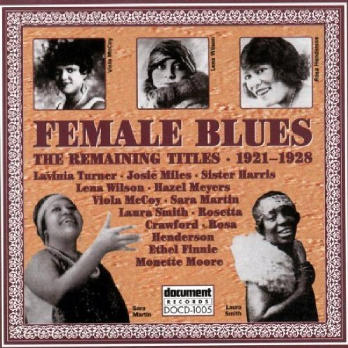 Female Blues The Remaining Female Blues The Remaining Tit Turner Miles Harris Wilson Meyers Mccoy Martin Smith