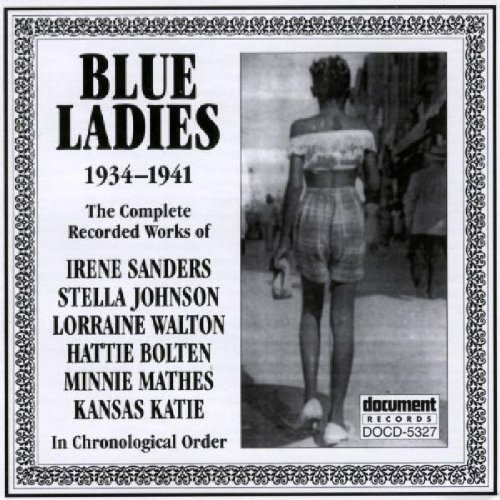 Blue Ladies 1934 41 Sanders Johnson Walton Mathes