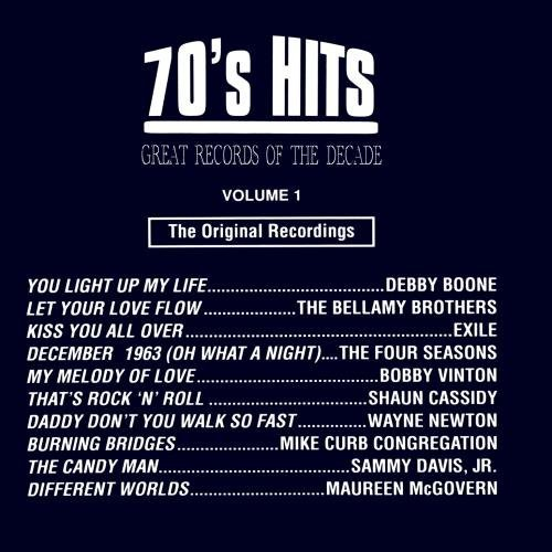 Great Records Of The Decade Vol. 1 70's Hits CD R Great Records Of The Decade