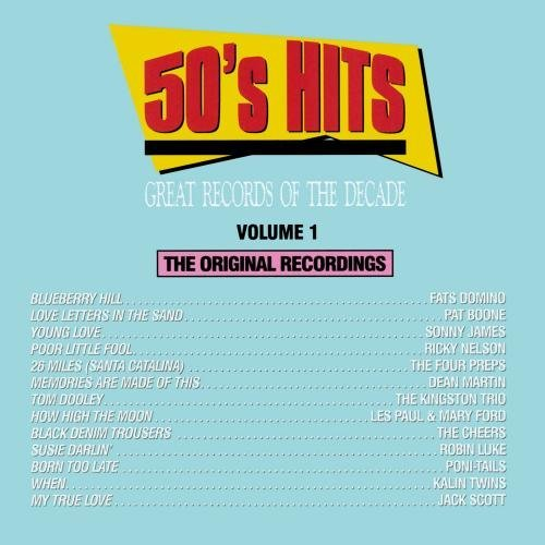 Great Records Of The Decade Vol. 1 50's Hits CD R Great Records Of The Decade