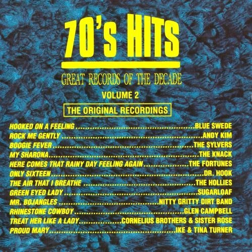 Great Records Of The Decade Vol. 2 70's Hits CD R Great Records Of The Decade