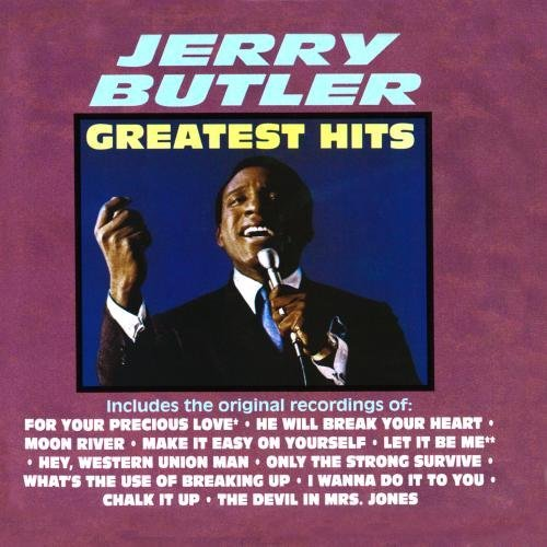 Jerry Butler Greatest Hits CD R