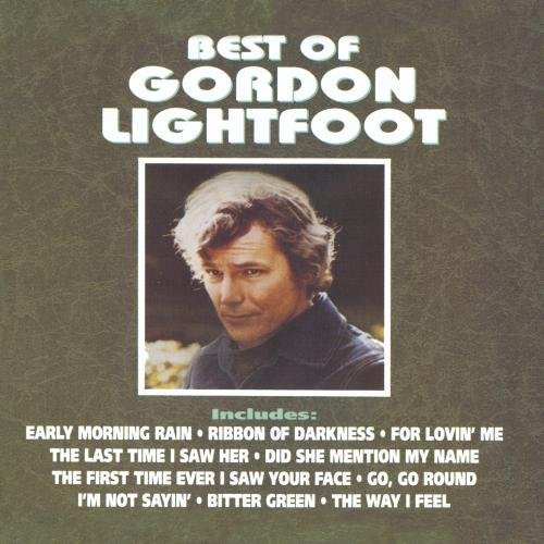 Gordon Lightfoot Best Of Lightfoot Gordon CD R