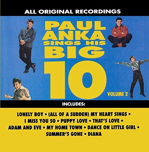Paul Anka Vol. 2 Sings His Big 10