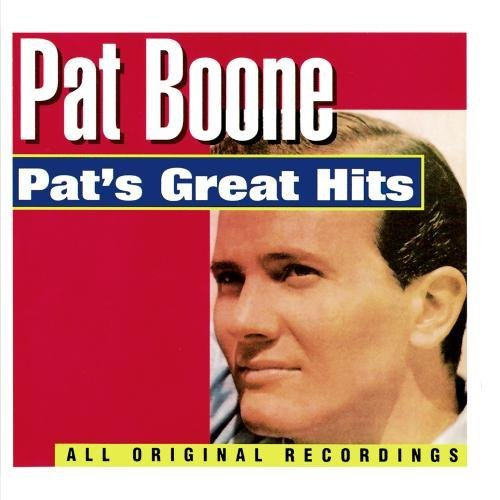Pat Boone Pat's Great Hits CD R