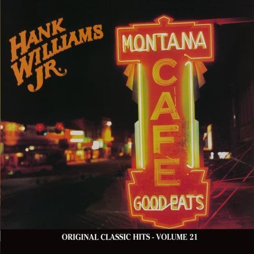 Hank Jr. Williams Montana Cafe CD R Original Classic Hits