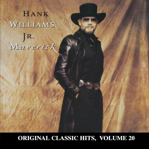 Hank Jr. Williams Maverick CD R Original Classic Hits