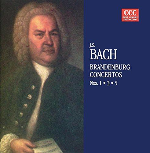 Johann Sebastian Bach/Concertos 1 3 & 5@Cd-R