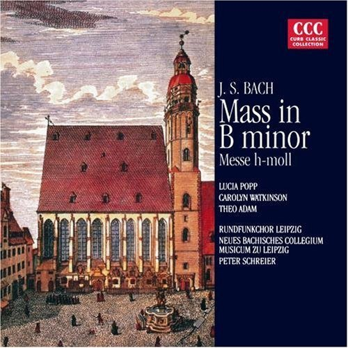 Johann Sebastian Bach Mass In B Minor CD R Schreier