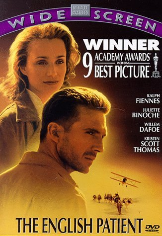 English Patient Fiennes Binoche Dafoe Clr 5.1 Ws Cc Keeper R