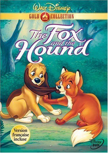 Fox & The Hound Disney Clr R Gold Coll.