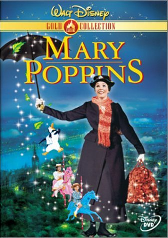 Mary Poppins Andrews Van Dyke Clr G Gold Coll.