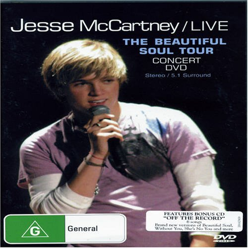 Jesse Mccartney Beautiful Soul Concert Import Aus Beautiful Soul Concert