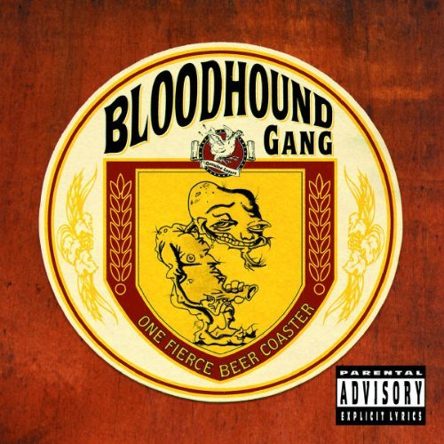 Bloodhound Gang One Fierce Beer Coaster Specia Import Eu