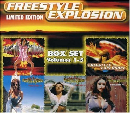 Freestyle Explosion Vol. 1 5 Freestyle Explosion 5 CD