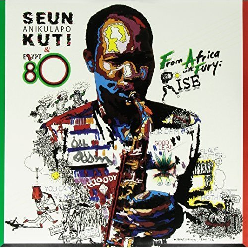 Seun Kuti From Africa With Fury Rise 2 Lp Incl Download