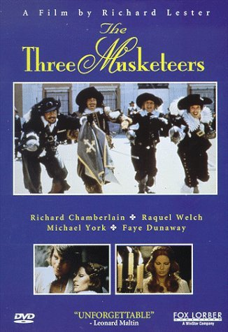 Three Musketeers (1973) Reed Welch Chamberlain York Fi Clr Keeper Prbk 09 02 02 Pg