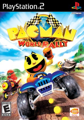 Ps2 Pacman World Rally