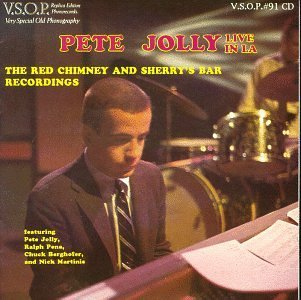 Pete Jolly Live In La Red Chimney & Sherr