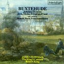 D. Buxtehude Jubilate Domino Jesu Meine Fre Bowman*james (c Ten) King King's Consort