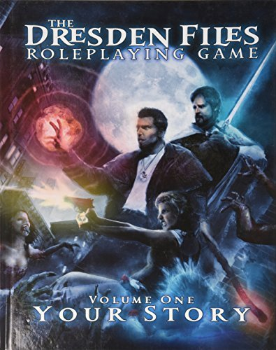 Leonard Balsera Dresden Files Rpg Core Rulebook Volume 1 Your Story