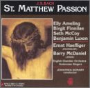 J.S. Bach/St. Matthew Passion@Ameling/Haefliger/Mcdaniel/&@Somary/English Co