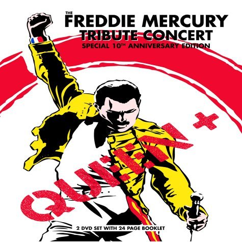 Queen+ Freddie Mercury Tribute Concer 2 DVD Set T T Freddie Mercury