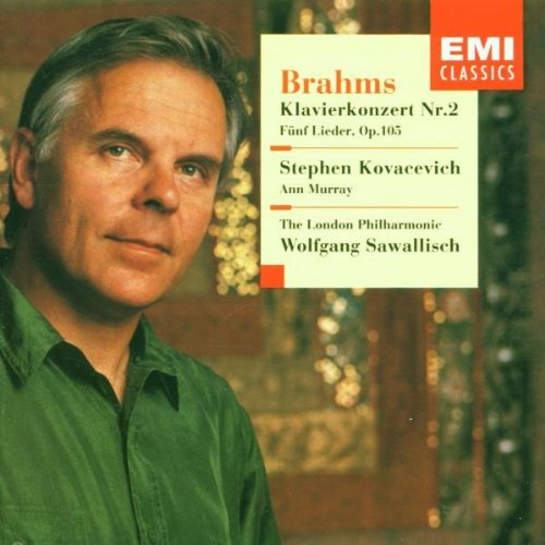 J. Brahms Con Pno 2 Songs (5) Kovacevich (pno) Murray (mez) Sawallisch London Po