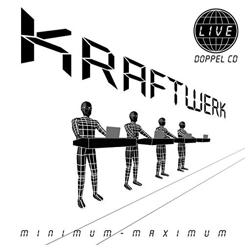 Kraftwerk Minimum Maximum 2 CD Set