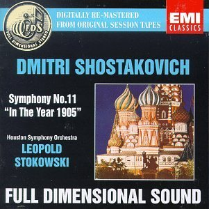 D. Shostakovich Sym 11 Stokowski Houston So