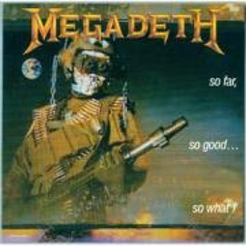 Megadeth So Far So Good So What Import Eu Incl. Bonus Tracks