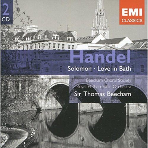 Sir Thomas Beecham Handel Solomon Love In Bath 2 CD Beecham Royal Po