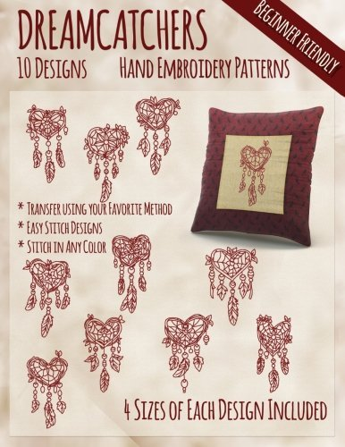 Stitchx Embroidery Dreamcatchers Hand Embroidery Patterns