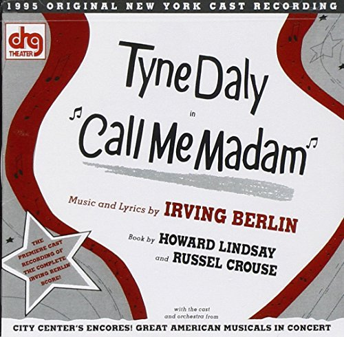 Cast Recording Call Me Madam Music By Irving Berlin