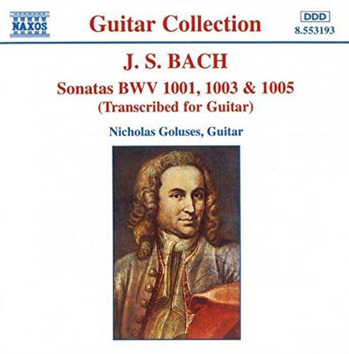 Johann Sebastian Bach/Son Vn 1-3 (Trans Gtr)@Goluses*nicholas (Gtr)