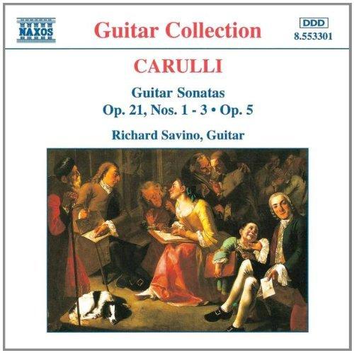 f-carulli-guitar-sonatas-op-5-21-savinorichard-gtr